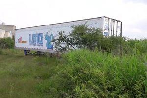 Toa xe container chứa 150 xác người khiến dân Mexico phẫn nộ