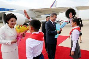 Truyền thông Triều Tiên đồng loạt đưa tin về chuyến thăm của Tổng thống Hàn Quốc
