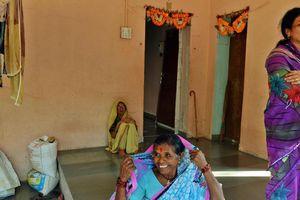 Cộng đồng người sống không cần cửa ở Ấn Độ