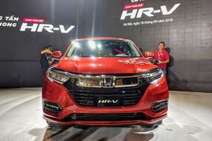 Honda HR-V, đàn em CR-V về Việt Nam với giá từ 786 triệu đồng