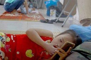 Vụ cháy Đê La Thành lan sang BV Nhi: Người nhà bệnh nhi mất sạch tiền lo cho con