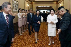 Thông điệp thời trang của phu nhân lãnh đạo Hàn Quốc và Triều Tiên