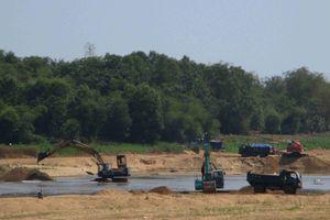 Bình Định: Xử lý 182 vụ khai thác cát sỏi trái phép, tổng số tiền xử phạt 34.500.000 đồng