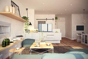 Cách trang trí căn hộ 100m2 theo phong cách Bắc Âu