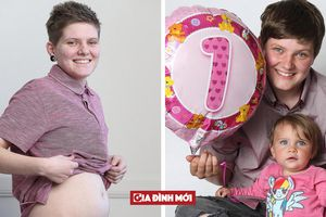Người đàn ông đầu tiên mang bầu ở Anh đã sinh con và tiếp tục quá trình chuyển giới