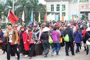 Loay hoay đối phó với vấn nạn 'tour 0 đồng' của lữ hành Trung Quốc