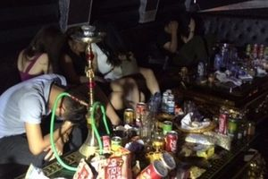 Hải Phòng: Hàng chục thanh niên 'liên hoan ma túy' bị bắt