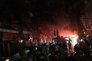 Thống kê thiệt hại, xác định nguyên nhân vụ hỏa hoạn ở Ngọc Khánh