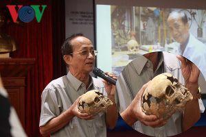 Quá trình tìm kiếm xương người tiền sử trong hang núi lửa ở Đắk Nông