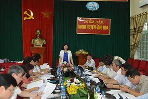 Giám sát kết quả giải quyết kiến nghị của cử tri huyện Ứng Hòa