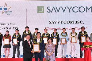 Savvycom lần thứ hai vào Top doanh nghiệp CNTT hàng đầu Việt Nam