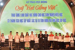 Tập đoàn Mường Thanh tặng 1.000 suất học bổng cho học sinh 10 tỉnh miền núi phía Bắc