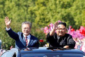 Những khoảnh khắc ấn tượng trong ngày đầu hội nghị thượng đỉnh liên Triều lần 3