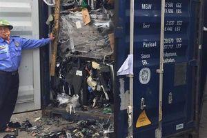 Hàng ngàn container 'rác' tuồn qua... 'kẽ hở' chính sách