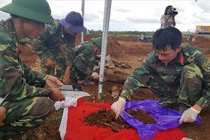Quảng Trị: Phát hiện 11 hài cốt liệt sĩ ở nông trường Dốc Miếu