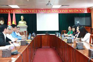 Phó Chủ tịch Tổng LĐLĐVN tiếp đoàn Trung ương Liên hiệp Công đoàn Lào