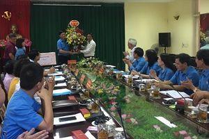 Thành ủy Hải Phòng gặp gỡ Đoàn đại biểu Công đoàn thành phố