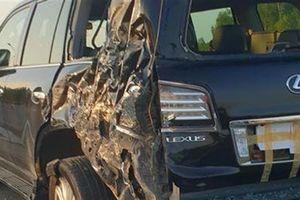 Tài xế Lexus bị đâm trên cao tốc: CSGT được dừng xe?