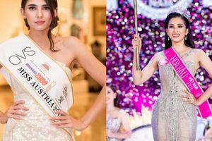 Hoa hậu Áo 2018: 'Tiểu Vy là đối thủ đáng gờm'
