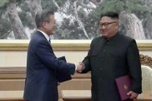 Nhà lãnh đạo Triều Tiên và Tổng thống Hàn Quốc ký tuyên bố chung