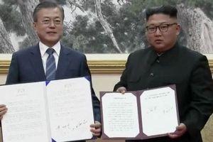 Hàn – Triều ký thỏa thuận 'mở ra tương lai mới'