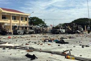Thêm 9 người bị bắt giam trong vụ gây rối ở Phan Rí Cửa