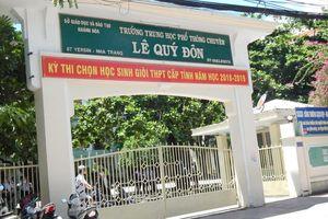 Khánh Hòa: 400 học sinh dự thi học sinh giỏi THPT cấp tỉnh