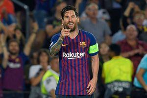 Vượt mặt Ronaldo, Messi lập kỷ lục mới tại Champions League