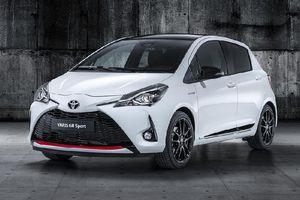 Toyota lần đầu giới thiệu Yaris phiên bản thể thao tới thị trường châu Âu