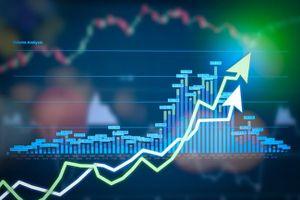 Vn-Index tăng điểm và hướng gần lên mốc 1.000 điểm