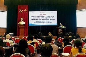 Việt Nam - Anh đẩy mạnh hợp tác khoa học công nghệ