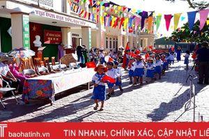 Sắp xếp hệ thống trường học ở Hà Tĩnh - giảm đầu mối, tăng chất lượng: Can Lộc tiên phong sáp nhập trường đồng cấp