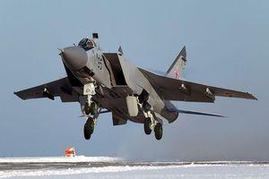 Máy bay Mig-31 rơi tại Nga