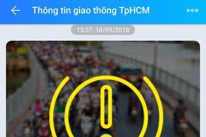 TP Hồ Chí Minh: Người dân có thể tra cứu tình hình giao thông qua Zalo