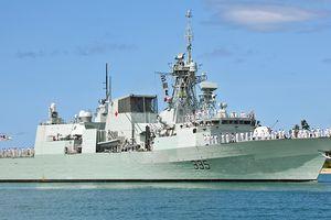 Tàu Hải quân Canada Calgary sẽ đến Đà Nẵng diễn tập cùng Hải quân Việt Nam