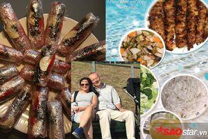 Từ nem chua, bún lòng tới bún thang: Cô giáo Việt khiến chồng Tây mê mẩn ẩm thực quê nhà