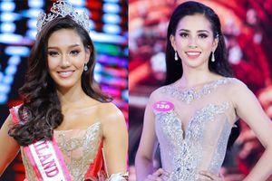 Dù Trần Tiểu Vy rất xinh nhưng fan Việt vẫn lo lắng tột độ trước những đối thủ khủng này
