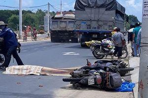 Ngã ra đường sau va chạm, nữ du khách nước ngoài bị xe tải cán tử vong