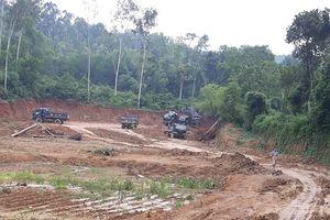 Thạch Thành (Thanh Hóa): Loạn khai thác đất trái phép