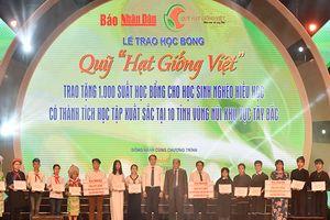 Tập đoàn Mường Thanh: Trao tặng 1000 suất học bổng cho học sinh 10 tỉnh miền núi phía Bắc