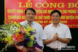 Kiện toàn nhân sự Nghệ An, Quảng Ninh, Thanh Hóa, Hà Nội, TPHCM