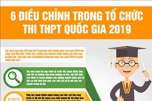 6 điều chỉnh trong tổ chức thi THPT quốc gia 2019