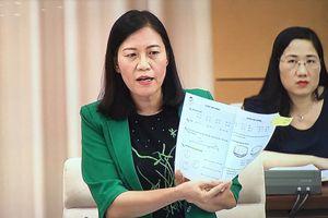 Đại biểu Quốc hội hỏi Bộ trưởng Phùng Xuân Nhạ chuyện độc quyền sách giáo khoa