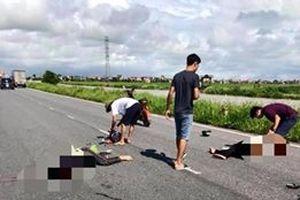 Chạy nhanh lấn làn, hai thanh niên đi xe máy tử vong tại chỗ