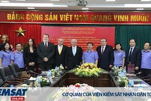 Đoàn đại biểu Viện kiểm sát tối cao Hungary thăm và làm việc với Trường Đại học Kiểm sát Hà Nội