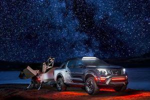 Xe Navara Dark Sky Concept phục vụ các chuyến ngắm bầu trời đêm