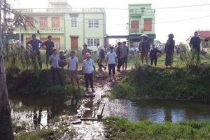 Thanh Hóa: Cháu bé 17 tháng tuổi bị đuối nước thương tâm