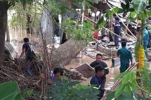 Chồng đau đớn nhìn vợ con chết thảm vì cây đổ sập nhà