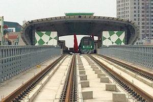 Chuẩn bị chạy thử 5 đoàn tàu đường sắt Cát Linh - Hà Đông