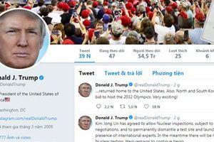 Phản ứng đầu tiên của Tổng thống Mỹ Trump về hội nghị liên Triều